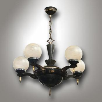 Five Light Chandelier - 1920