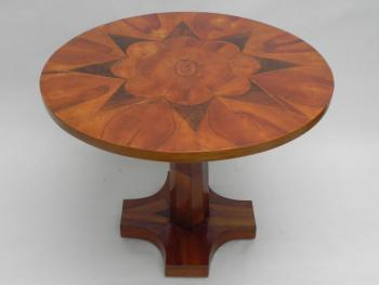 Dining Table - solid wood, walnut veneer - 1870