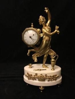 Empire Clock - Girl with castanets