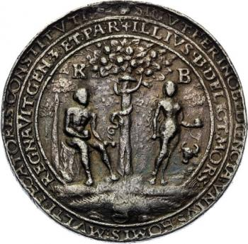 Silver medal (1551) - Redemption from sin