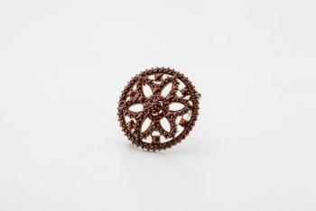Brooch with Garnet - 1940