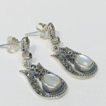 Silver Earrings - 1940