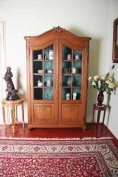 Bookcase - solid oak - 1920
