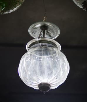 Ceiling Light - glass - 1900