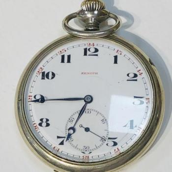 Pocket Watch - Zenith - 1890
