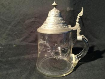 Glass Tankards - 1900