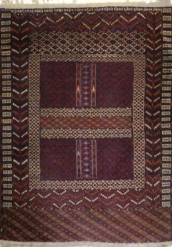 Turkoman Carpet - cotton, wool - 1910