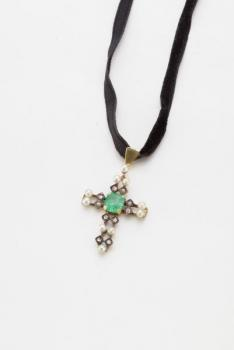 Cross Pendant - 1880