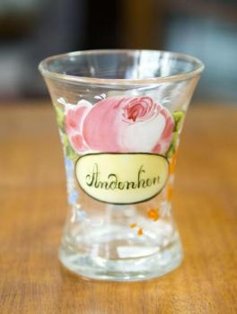 Souvenir glass