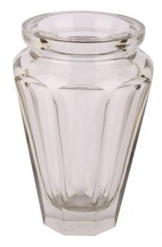 Vase - clear glass - Moser Bohemia - 1930