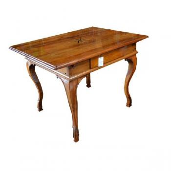 Dining Table - solid wood, cherry veneer - 1860