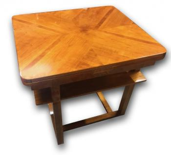 Extending Table - solid walnut wood - 1935