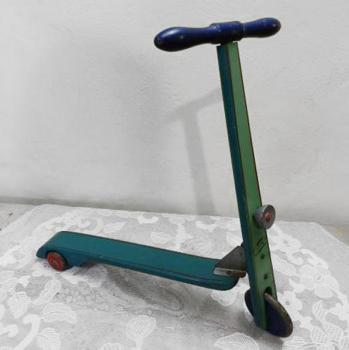 Scooter - wood, metal - 1960