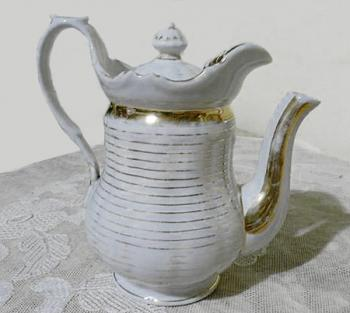 Jug - white porcelain - 1830