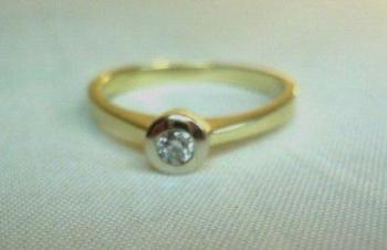 Ladies' Gold Ring - yellow gold - 2010