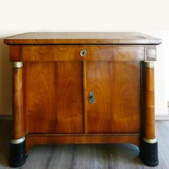 Commode - solid wood, cherry veneer - Biedermeier - 1820