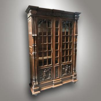 Bookcase with Glazed Doors - 1960