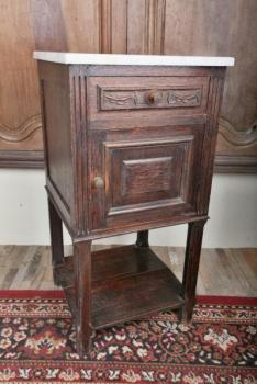 Bedside Table - oak - 1910