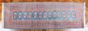 Turkoman Carpet - cotton, wool - 1990