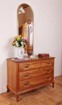 Commode - solid oak - 1950