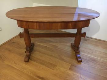 Writing Table - solid wood, cherry veneer - 1840