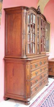 Vitrine - solid oak - 1760