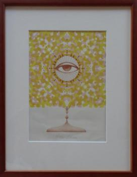 Ludmila Jirincova - God's eye in the monstrance II