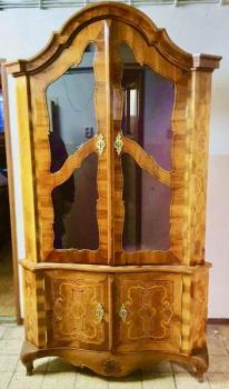 Display Cabinet - walnut veneer - 2010