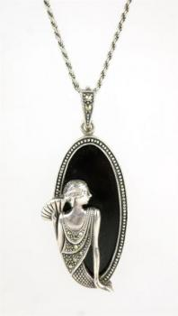 Silver Necklace - 1930