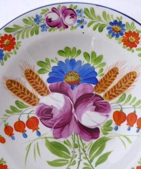 Plate with Chod flower pattern - Frantisek Mica