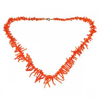Coral Necklace - 1900