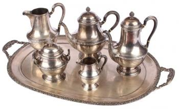 Silver Table Set - silver - 1930