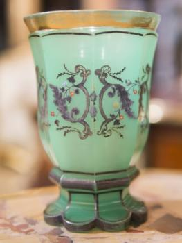 Glass Spa Sipping Cup - glass - 1840