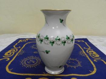 Vase from Porcelain - porcelain, painted porcelain - Technoimpex - Herend Hungary - 1930