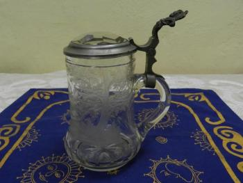 Glass Tankard - glass - 1900