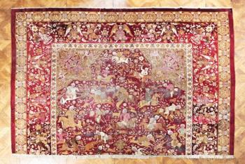 Persian Carpet - wool - 1765