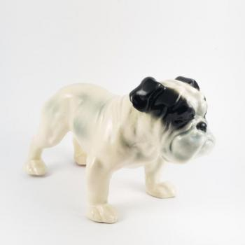 Porcelain Dog Figurine - 1930
