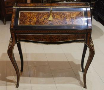 Writing Table - bronze, wood - 1850