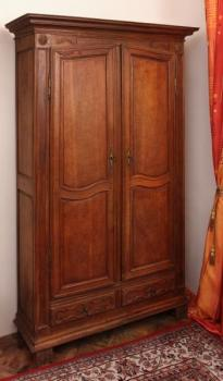 Wardrobe - solid oak - 1820