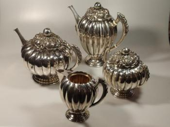 Silver Table Set - 1930