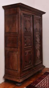 Wardrobe - solid oak - 1630