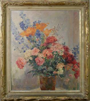 Still Life with Flowers - 1956