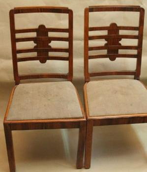Chairs - 2 pieces - Art Deco