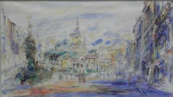 Aquarelle - Jan Bauch (1898 - 1995) - 1960