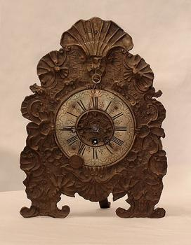 Clock - copper, brass - 1780