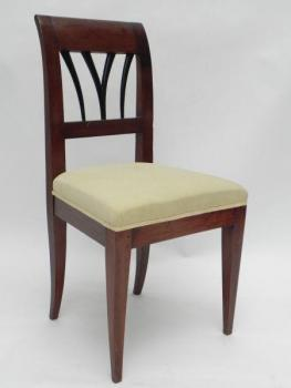 Chair - solid wood, veneer - 1830