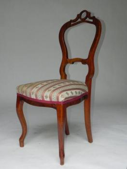 Chair - solid wood, veneer - 1850
