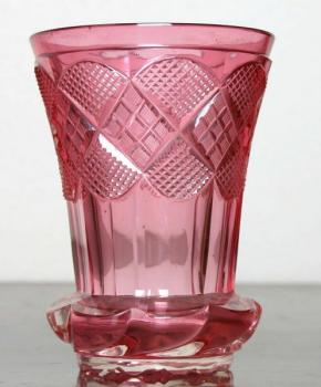 Glass Goblet - cut glass - 1840