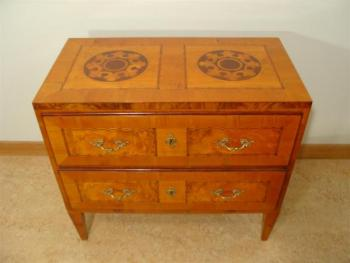 Commode - cherry veneer, spruce wood