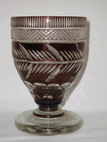 Glass - cut glass - 1890
